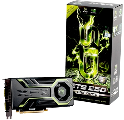 GeForce GTS 250 XFX