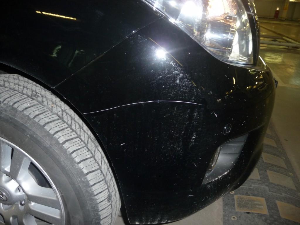Как и чем заделать царапины на машине?