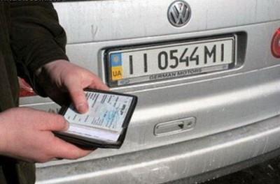 За что могут снять номера с машины?