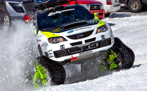 Снегоход KEN BLOCK'S TRAX STI CAR