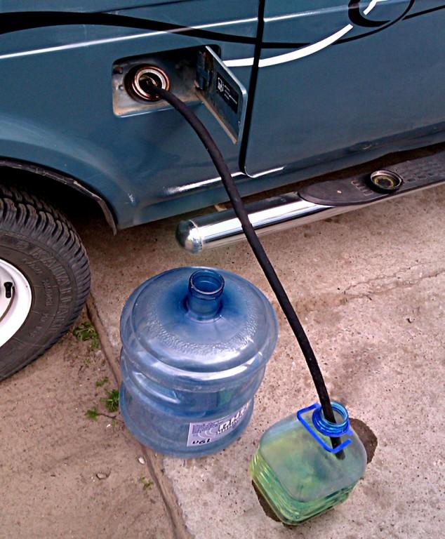 как слить бензин с нивы chevrolet